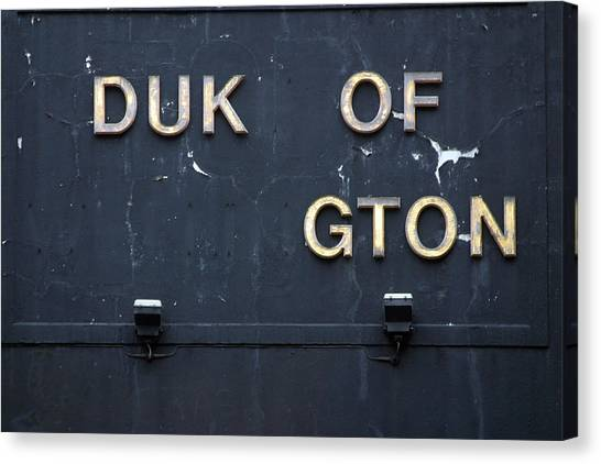 Duk Of Gton Canvas Print by Jez C Self