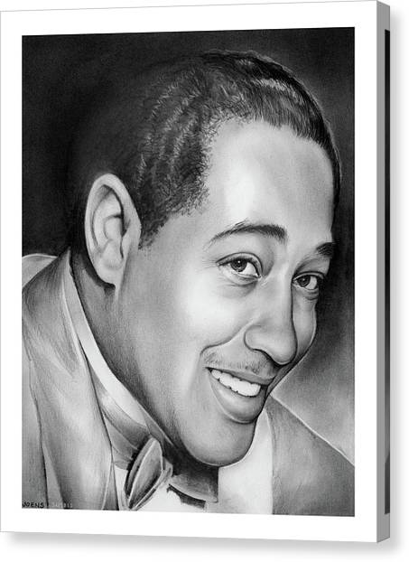 Duke University Canvas Print - Duke Ellington by Greg Joens
