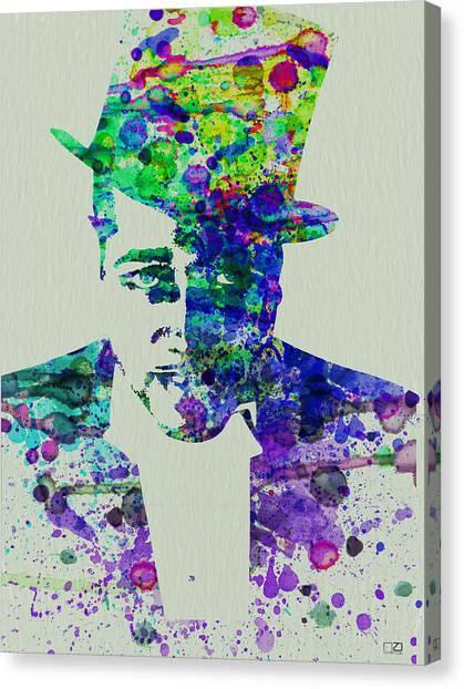 Duke University Canvas Print - Duke Ellington by Naxart Studio