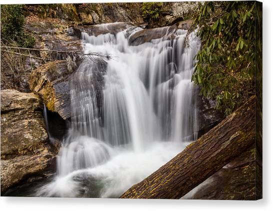 Dukes Creek Falls Canvas Print
