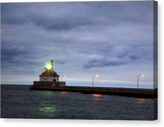 Duluth Harbor  Canvas Print