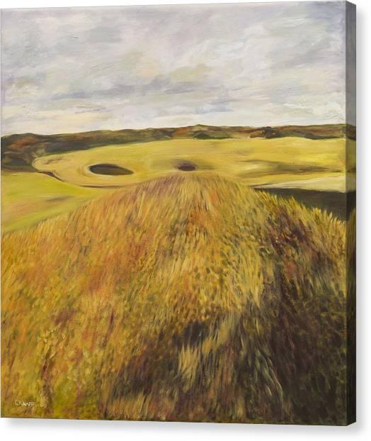 Dundonald Golf Course Canvas Print