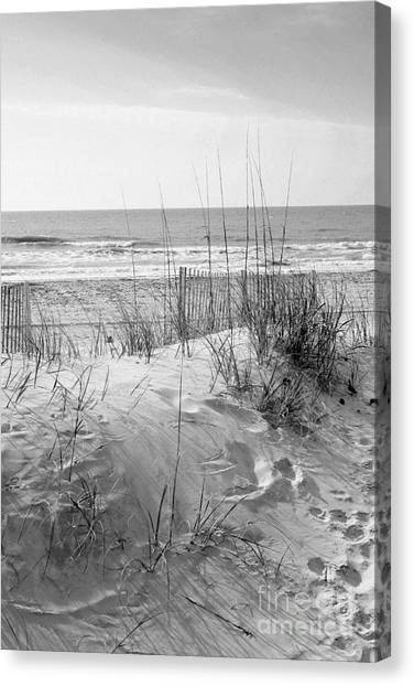 Dune - Black And White Canvas Print