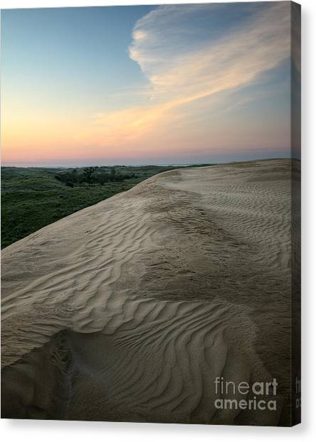 Dune Dawn Canvas Print by Royce Howland
