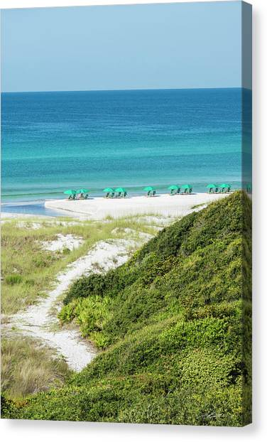 Dune Trail To The Gulf Canvas Print