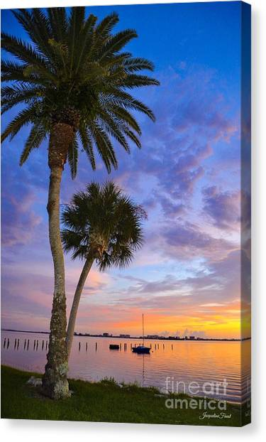Dunedin Sunset Canvas Print