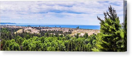 Dunes Along Lake Michigan Canvas Print