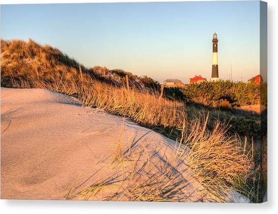Dunes Of Fire Island Canvas Print