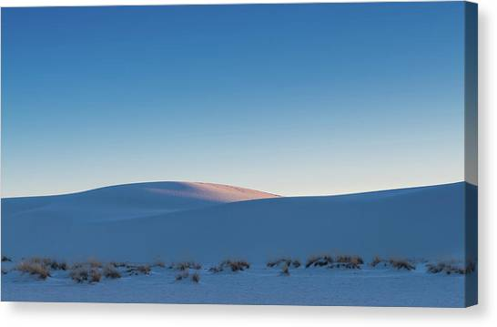 White Sand Canvas Print - Dunes Sunset by Joseph Smith