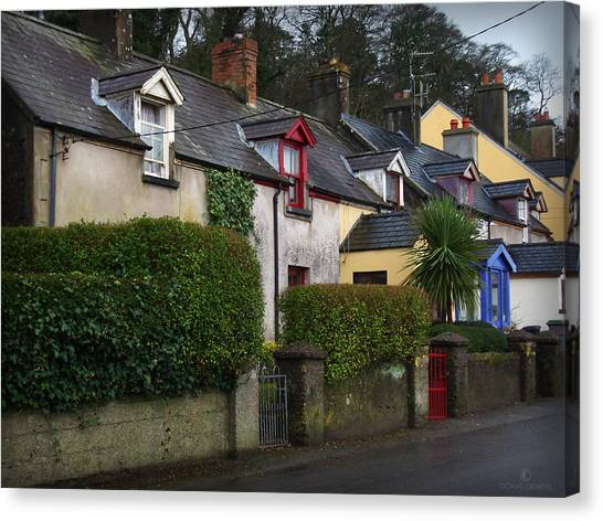 Dunmore Houses Canvas Print