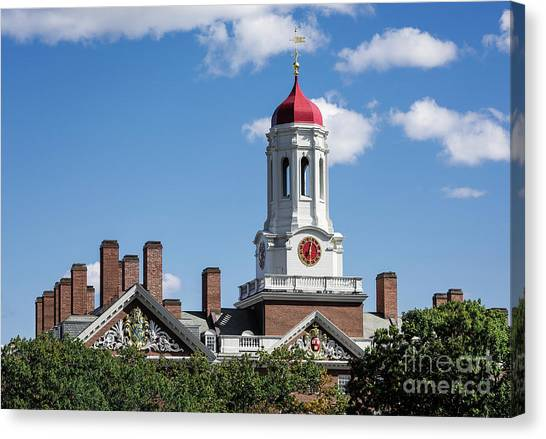 Harvard University Canvas Print - Dunster House by John Greim