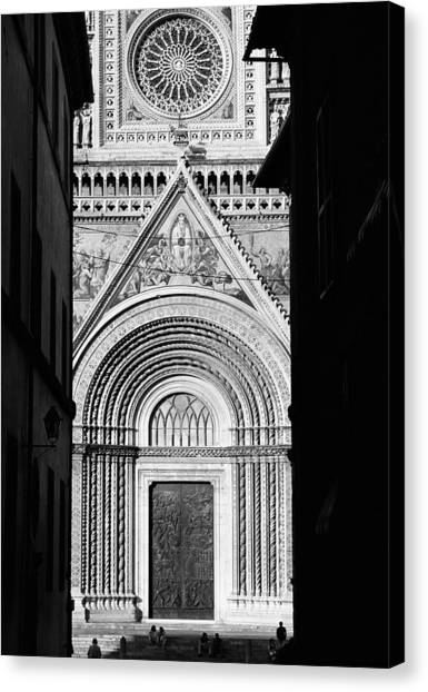 Duomo I Canvas Print by Artecco Fine Art Photography