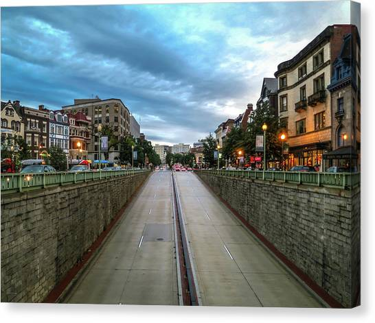 Dupont Circle Canvas Print
