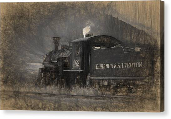 Durango And Silverton Train 2 Canvas Print