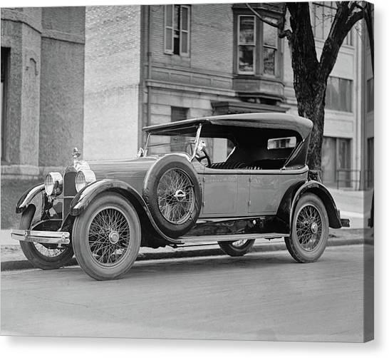 Dusenberg Car Circa 1923 Canvas Print