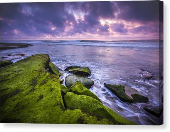Big Sky Canvas Print - Dusk Calm by Peter Tellone