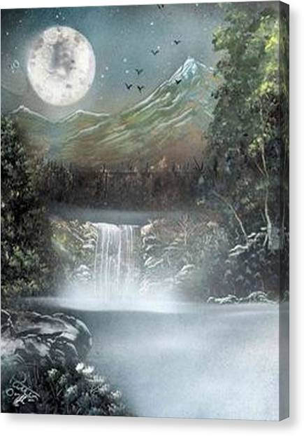 Dusk Canvas Print by My Imagination Gallery