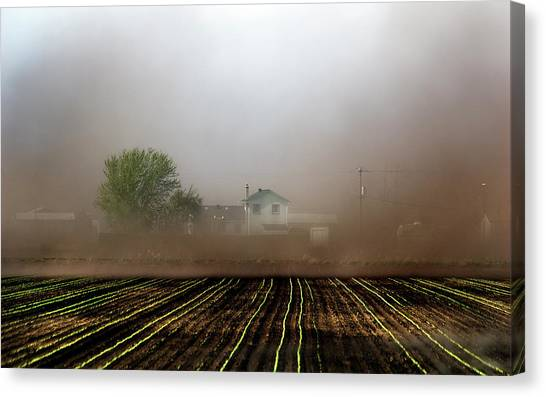 Dust Storm Canvas Print
