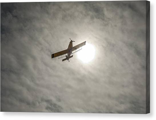 Duster's Sky Canvas Print