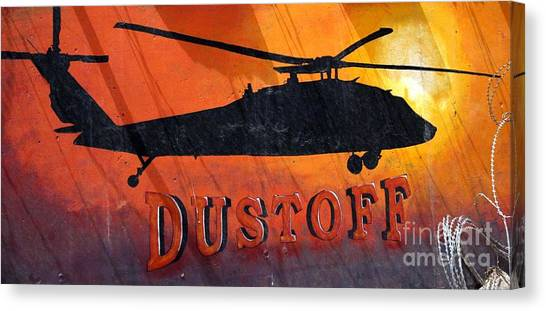 Dustoff Canvas Print by Unknown