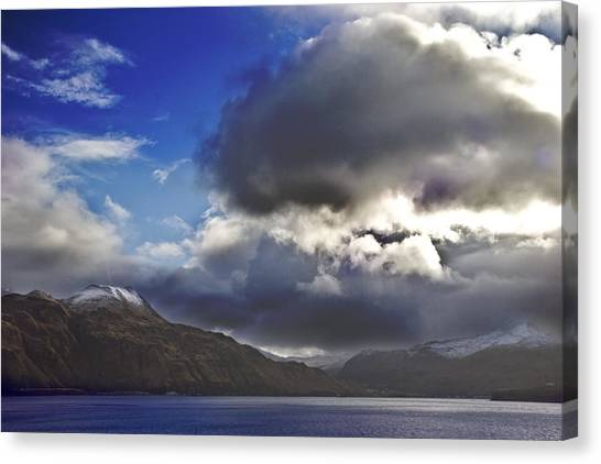 Dutch Harbor Canvas Print by Wes Shinn