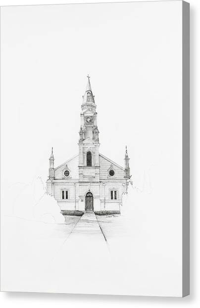 Dutch Reformed Church Pearston Canvas Print