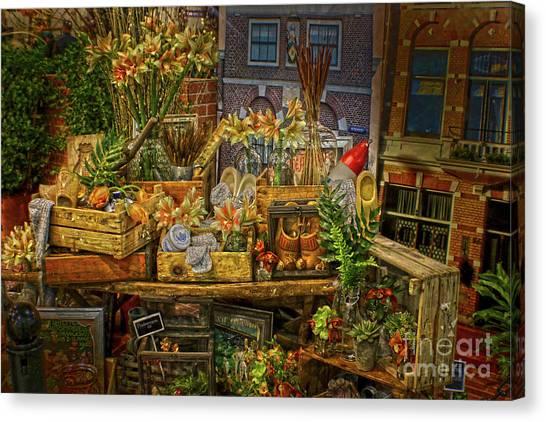 Dutch Shop Canvas Print