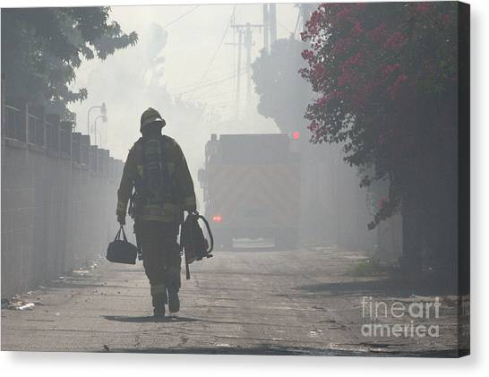 Duty Calls Canvas Print
