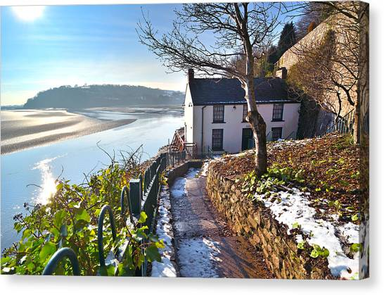 Dylan Thomas Boathouse 1 Canvas Print