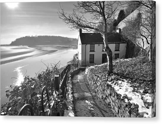 Dylan Thomas Boathouse 1b Canvas Print