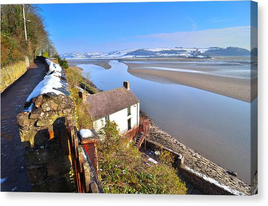 Dylan Thomas Boathouse 2 Canvas Print