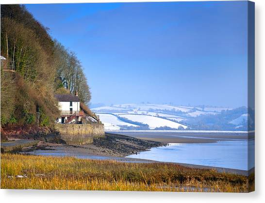 Dylan Thomas Boathouse 3 Canvas Print
