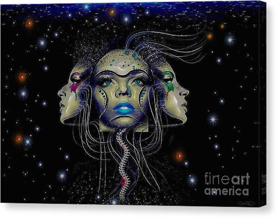 Dynamic Three Canvas Print