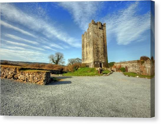 Dea Canvas Print - Dysert Castle by John Quinn