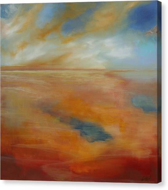 Each New Day Canvas Print by Michele Hollister - for Nancy Asbell
