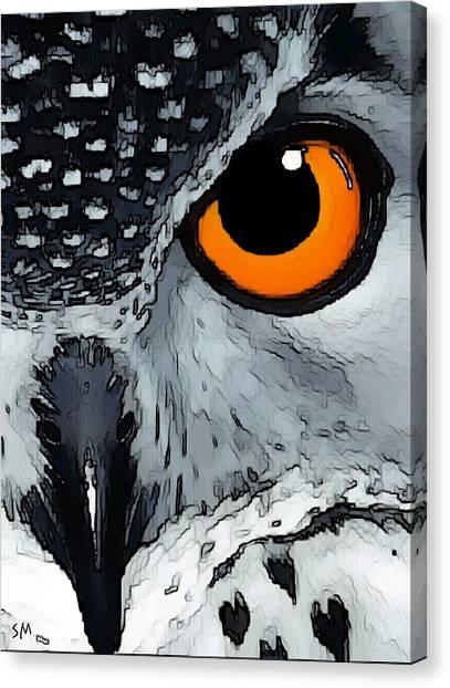 Eagle Art Canvas Print