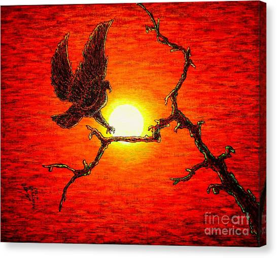 Eagle B2 Canvas Print