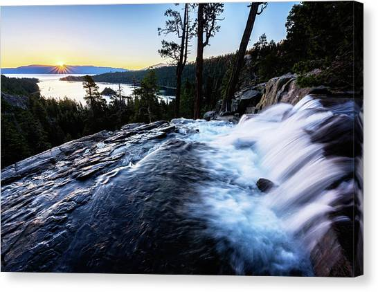 Eagle Falls At Emerald Bay Canvas Print