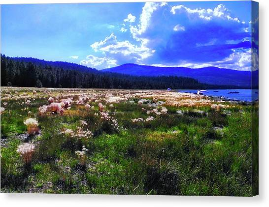 Eagle Lake Afternoon Canvas Print