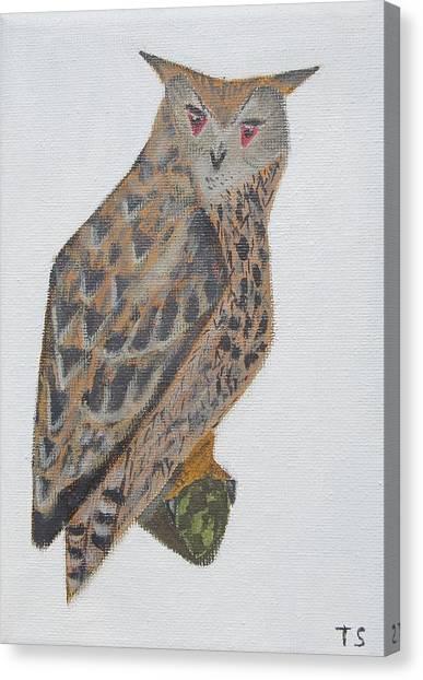 Eagle Owl Canvas Print