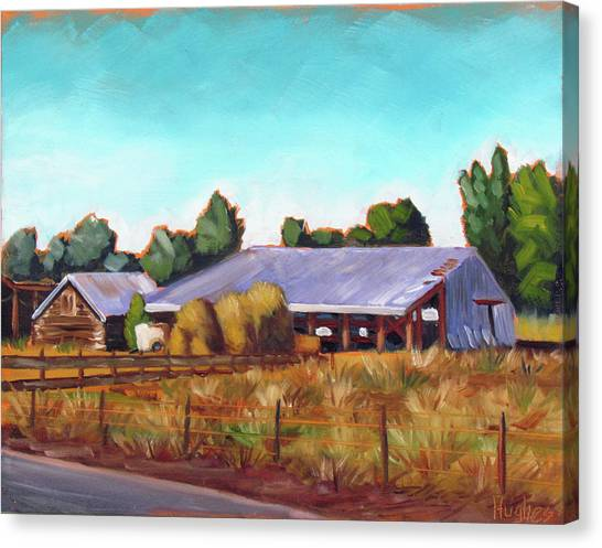 Eagle Road Barn Canvas Print