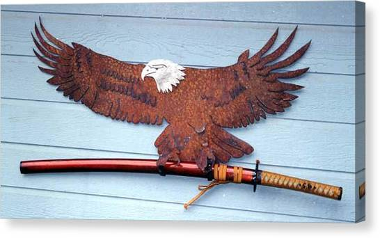 Eagle Sold   Canvas Print by Steve Mudge