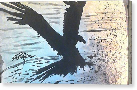 God Canvas Print - Eagle Wings by Love Art Wonders By God