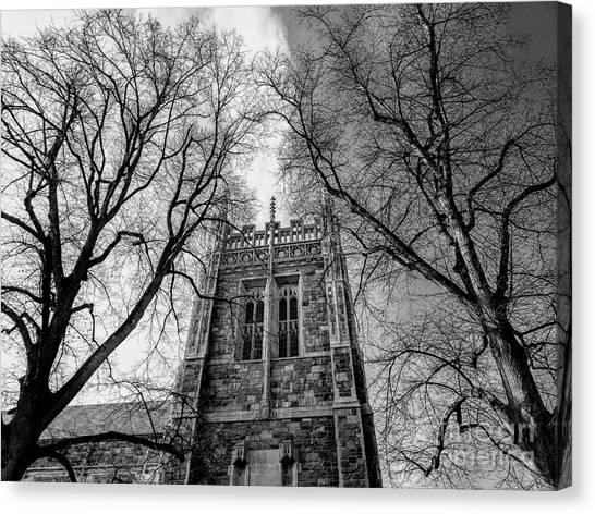 Boston College Canvas Print - Eagles Nest by Dave Pellegrini