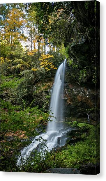 Early Autumn At Dry Falls Canvas Print