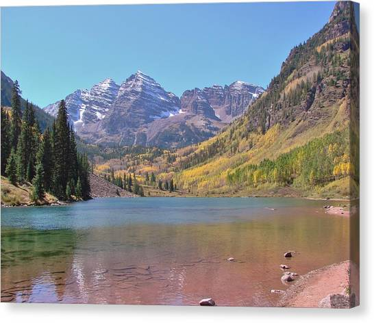 Early Autumn At The Bells Canvas Print