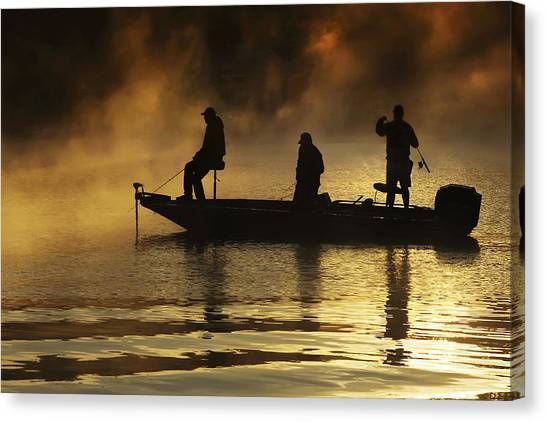 Early Casting Call Canvas Print