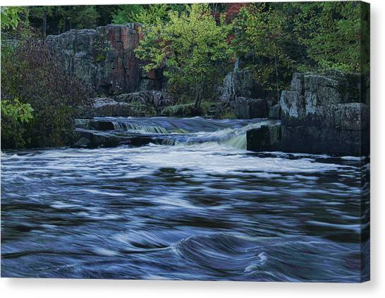 Early Fall At Eau Claire Dells Park Canvas Print