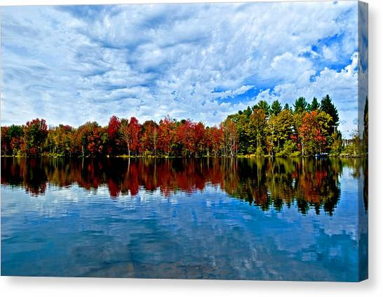 Early Fall Colors. New York Canvas Print