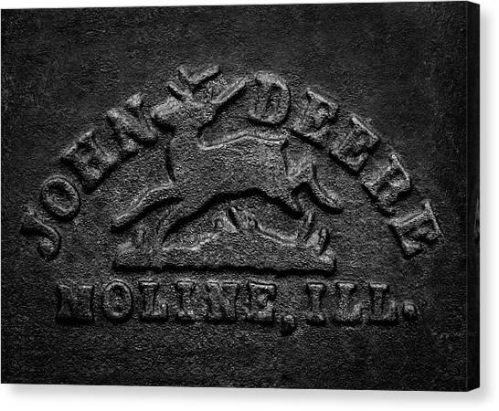 Early John Deere Emblem Canvas Print